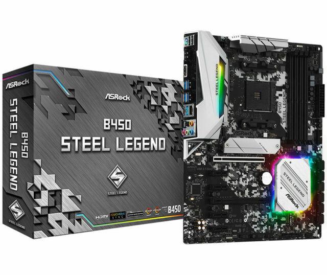 ASRock B450 Steel Legend Motherboard