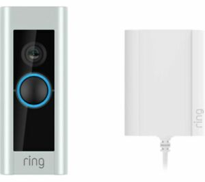 RING Video Smart Doorbell Pro with Plug-In Adapter Motion Detection - Currys