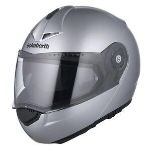 NEW-Schuberth-C3-Pro-SMALL-Silver-Helmet-4376014360