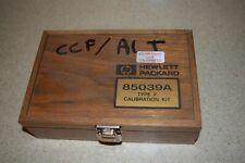 Ltss Hewlett Packard 85039a Type F Calibration Kit Dd