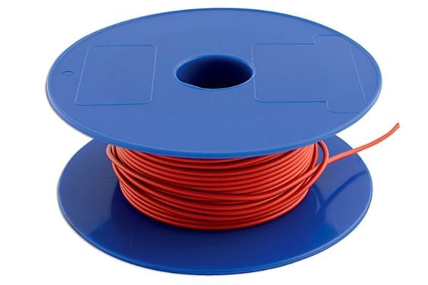 Connect Brown Single Core Auto Cable 28/0.30  50 Metres - 30012