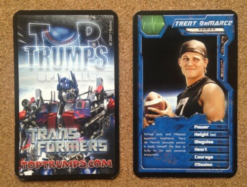 Top Trumps Single Cards Transformers Alien Mechanical Robots Various FB3
