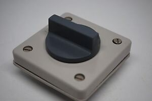 LK NES Rotary Switch 10A 380V 2P 2 Position Panel Mount