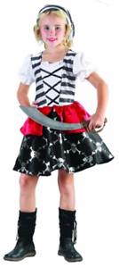 Captain J Girl Children Costume Fairy tale Book Week Day Fancy Dress Outfit