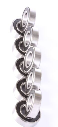 6205-2RS C3 Premium Sealed Ball Bearing 25x52x15mm 10 pieces