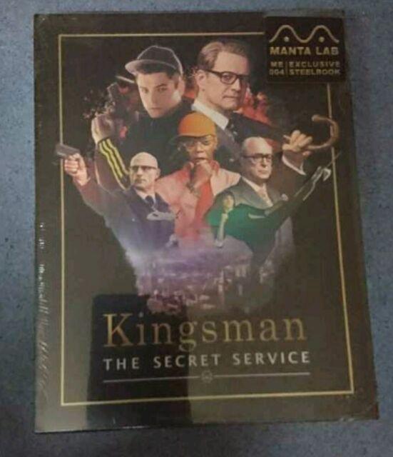 The Kingsman the secret service , steelbook