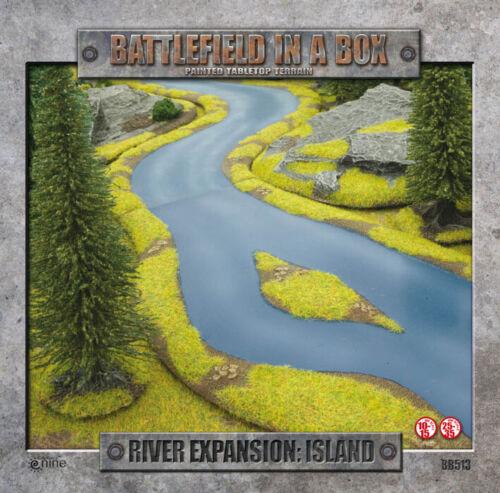 isla BB513 Campo de batalla en una Caja Nuevo Y En Caja River expansión