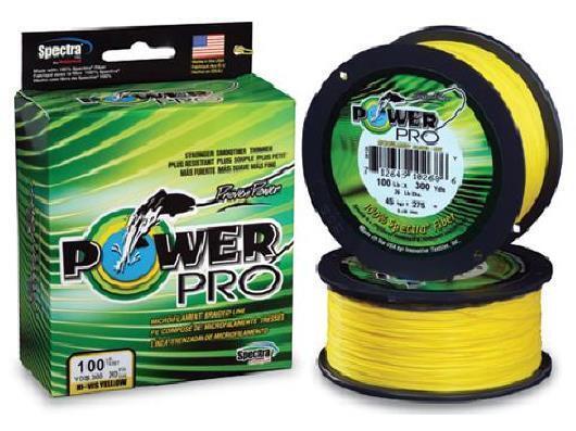 Power Pro Spectra Braid Yellow, 8 lb 500 yards, NEW