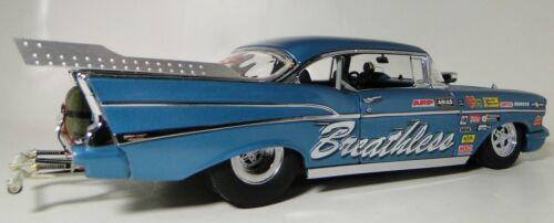 Hot Rod 1 1957 Chevy Chevrolet 1963 Carro De Corrida Dragster Corvette Motor 1955 55A57
