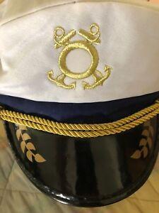 AgréAble Yacht Chapeau De Capitaine Adulte Marine Accessoire Costume Taille Unique Valeur Formidable
