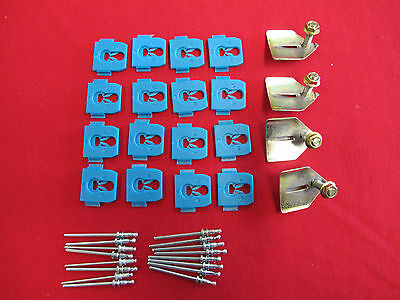 FORD FALCON LOWER SILL MOULD CLIP KIT SUIT XW XY GT GS FAIRMONT K CODE 302 351