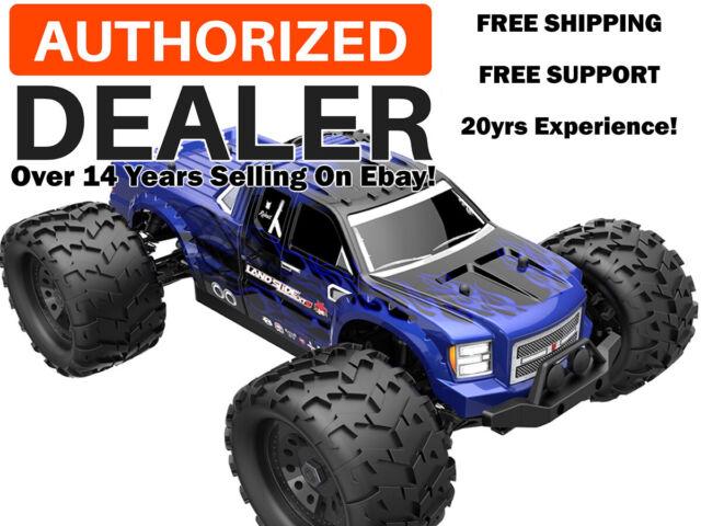 Thunder Tiger 1 8 Mt4 G3 Brushless 2 4ghz Rtr Monster Truck Blue