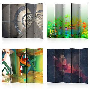 deko paravent raumteiler trennwand foto abstrakt 3d 10 varianten 2 formate ebay. Black Bedroom Furniture Sets. Home Design Ideas