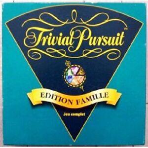Jeu-de-societe-Trivial-Pursuit-Edition-Famille-1995-Parker-Boite-scotchee