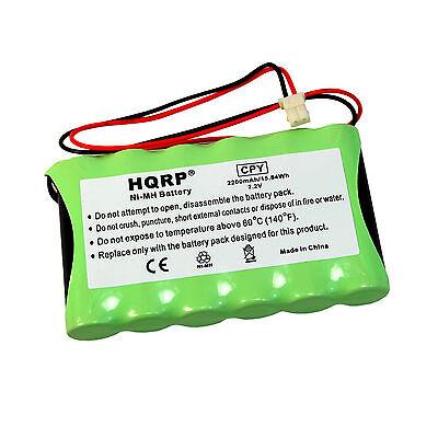 LYNXRCHKITHC WALYNXRCHBSC HQRP Battery for Ademco Honeywell LYNX LYNXR LYNXR24