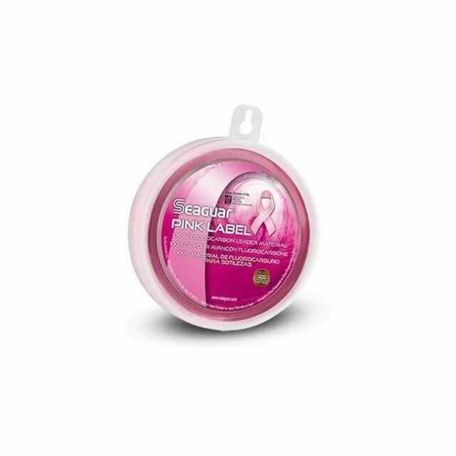 Seaguar 100/% Fluorocarbon Line 25yd Spool Pink Label Striper Leader 80lb NEW