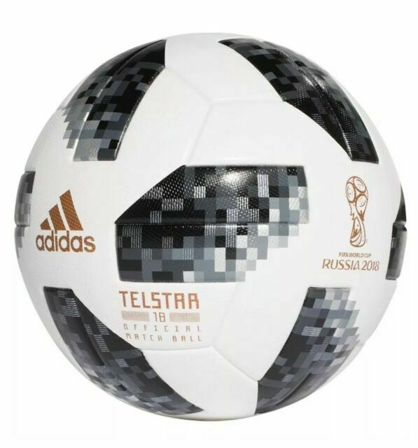 Económico Alicia Ártico  adidas Telstar World Cup 2018 Russia Official Match Ball NFC Ce8083 Size 5  for sale online | eBay