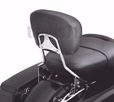 Detachable Backrest Sissy Bar w/ Docking Hardware For Harley Touring 14-Later