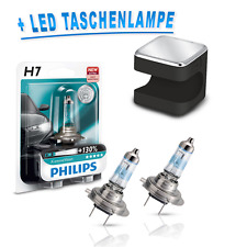 Philips H7 X-treme Vision +130% 12972XV+B1 2St. + OSRAM Cuby LED Taschenlampe