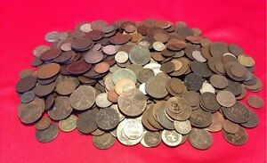 Old-World-Coins-1700s-1800s-A-Part-of-History-1-COIN-Antique-Money