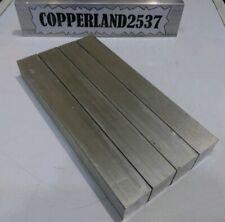 4 Pc 1 X 1 X 8 Long New 6061 Solid Aluminum Plate Flat Bar Tool Block