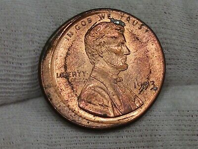 Error: 1993 Lincoln Penny Off-center. #16 | eBay