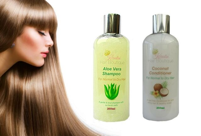 After Keratin Treatment Keraone Kit Care Shampoo Without Salt And Cream For Sale Online Ebay
