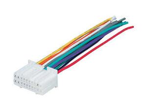 factory radio stereo install oem reverse male wire wiring harnessa imagem está carregando instalacao estereofonico de radio de fabrica oem reverso