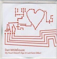 (DC224) Dan Whitehouse, My Heart Doesn't Age - 2011 DJ CD