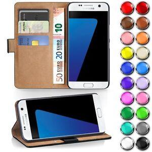Handy-Tasche-fuer-Samsung-Galaxy-Flip-Cover-Case-Schutz-Huelle-Etui-Schale-Wallet