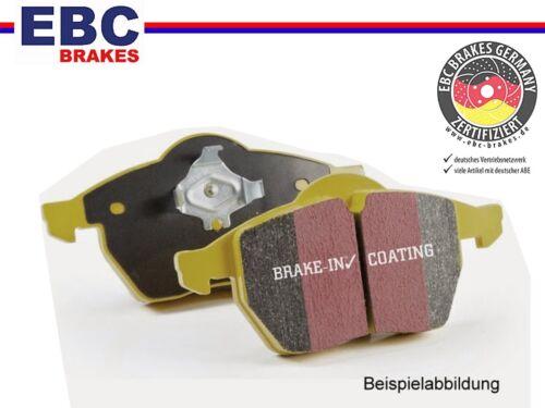 EBC Yellowstuff Sport-Bremsbeläge vorne Vorderachse für BMW Wiesmann für BMW,