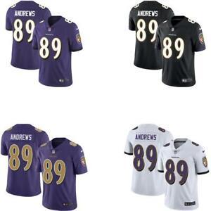 Details about Mark Andrews Men White / Black / Purple / Rush Jersey Ravens
