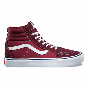 06666490e7 Image is loading Vans-SK8-Hi-Reissue-Throwback-Mens-Skate-Shoes-