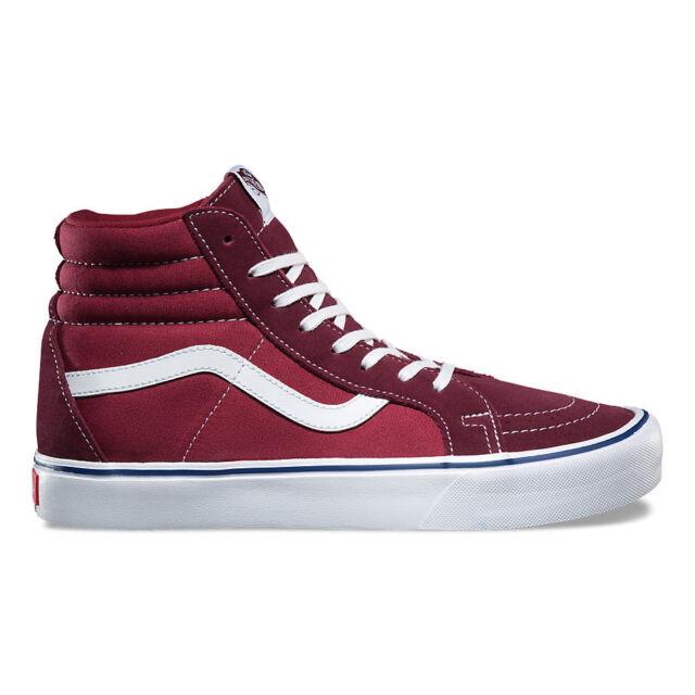 Vans Off The Wall Mens SK8 Hi Reissue Zip Mono Port Royale Skate Shoes 8.5 New