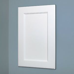 Details About White Shaker Style Recessed Medicine Cabinet With No Mirror    3 Sizes