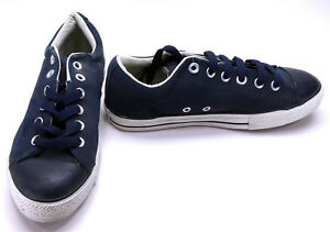 Converse Shoes Chuck Taylor Ox All Star Suede Navy Blue