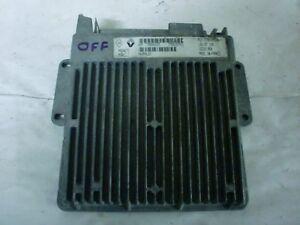 calculateur Renault safir 1 débloqué 7700107694 magneti ( immo off ) (réf 0058)