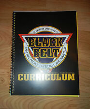 NEW Black Belt-Curriculum Manual - ATA-Taekwondo-Karate-Martial-Arts-Gift