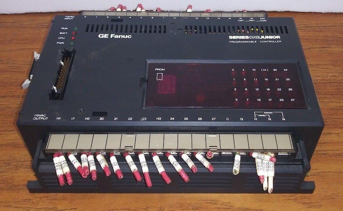 GE Fanuc Series One Junior PLC IC609SJR100C