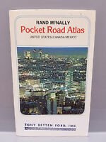 Vintage Rand McNally Pocket Road Atlas