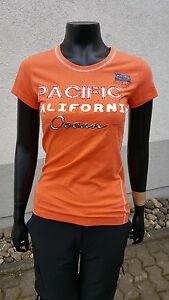 Stylisches-Damen-T-Shirt-039-039-HEIDELBERG-2-039-039-NEU-WOMEN-Gr-S-Orange