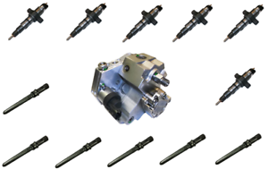 2003-2004-Dodge-Ram-5-9L-Diesel-Fuel-Injector-Injection-Pump-Supply-Tube-Package
