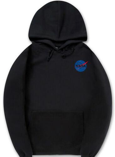 NASA Space Logo Men Women Hoodie  Sweaters Sweatshirt Hooded Vintage Casual NEW