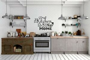 Quote Wall Stickers Art Dining Room