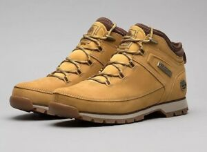 Todo el tiempo Turismo Punto de referencia  Timberland Euro Sprint Hiker Wheat Nubuck Mens Boots Shoes, UK ...