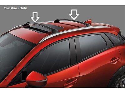 Cross Bars Roof Rack Aluminium Locking fits Mazda 6 Estate Tourer 2013-2016