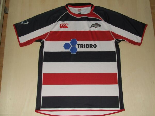 Avere Una Mente Inquisitrice Maglia Shirt Trikot Maillot Rugby Counties Manukau Steelers Tg. Xxl