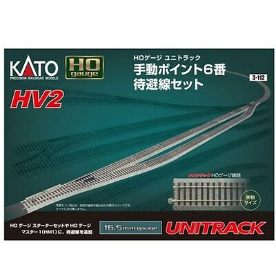 Kato 3 112 Ho Hv2 Passing Siding Track Set With 6 Manual