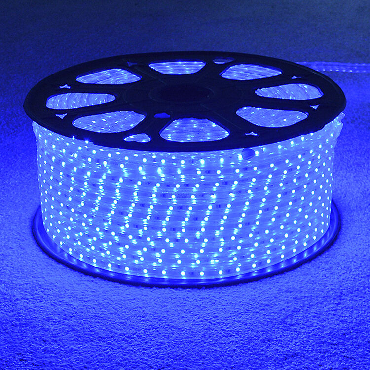Blau LED Strip 220V 240V IP68 Waterproof 3528 SMD Commercial Rope Garden Lights