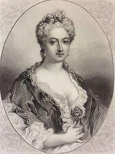 Marie Louise Elisabeth d'Orléans duchesse de Berry (1695-1719)  Rigault  Leguay
